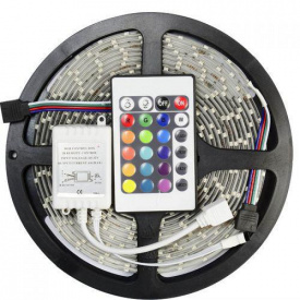 Лента светодиодная UKC RGB комплект 50/50 5 метров длинна