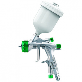 Краскопульт мини HVLP 250мл, 0.8мм ITALCO Shine-MINI-0.8