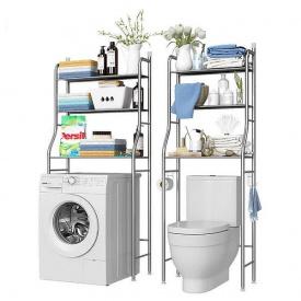 Напольные стойки-органайзеры на стиральную машину и унитаз UKC Toilet Rack