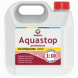 Грунтовка ESKARO Aquastop Professional 3 л