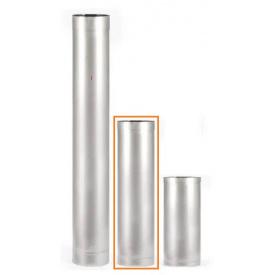Труба из нержавеющей стали 100мм 0.5м AISI 201 0,5мм
