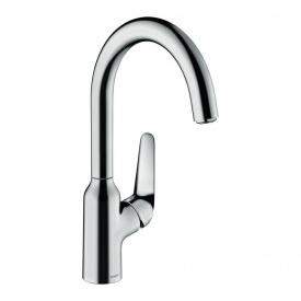 Смеситель для кухни Hansgrohe M421-H220 однорычажный Хром 71802000