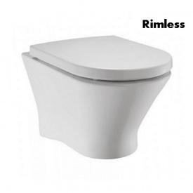 Унитаз подвесной Roca Nexo Clean Rim с сиденье Slow-closing безободковый Белый A34H64L000