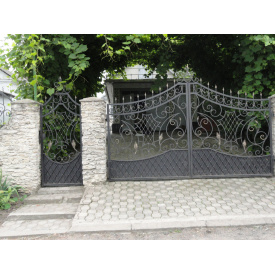 Ворота ковані ПП Брама Люкс