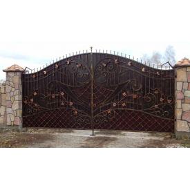 Ворота ковані ПП Брама Гриня