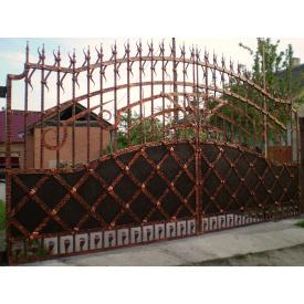 Ворота ковані ПП Брама Окко