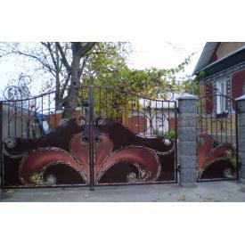 Ворота ковані ПП Брама Сова