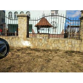 Забор кованый ЧП Брама Лотос