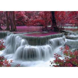 Фотообои Престиж Водопад в розовом саду №58
