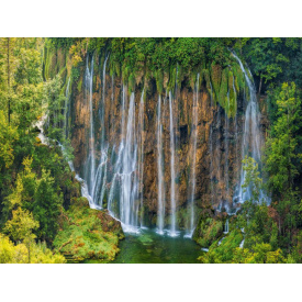 Фотообои Престиж Лесной водопад №45