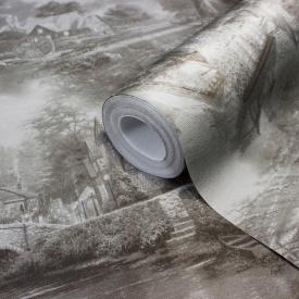 Шпалери для коридору гарячого тиснення LS Сад Декор сірий ЕШТ 1-1462 1,06х10,05 м