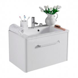 Тумба для ванной комнаты Fancy Marble Fiji 700 с раковиной Annabelle 70 Белая