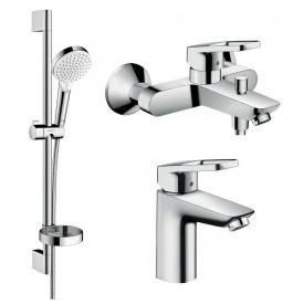 Logis Loop Набор смесителей для ванны умывальник 100 HANSGROHE 1062019