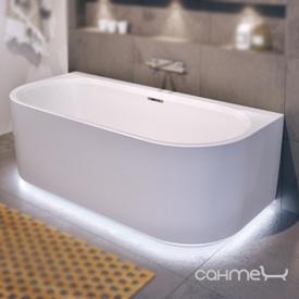 Пристенная ванна с нижней LED-подсветкой Riho Desire 184x84 BD0700500K00133 белая