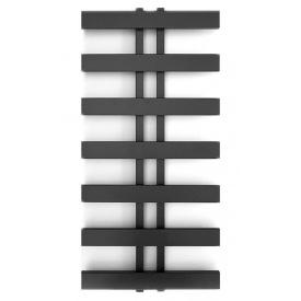 Полотенцесушитель водяной лесенка Genesis Aqua Symmetry 120x53 см Черный