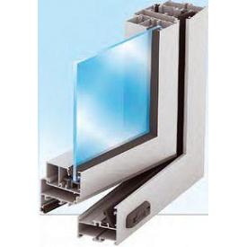 Алюминиевое окно из холодного алюминия Alutech ALT C48