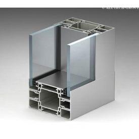 Алюминиевая перегородка Alutech ATL110