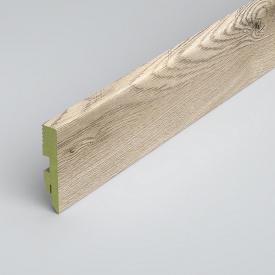 Плинтус напольный Classen Green Prestige 80 MDF L3941 Wolta Oak