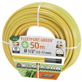 """Шланг поливочный Claber 1/2"""" 50 м Flexyfort Green (82709)"""
