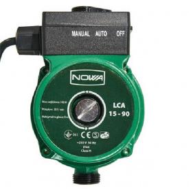Насос для повышения давления с мокрым ротором NOWA LCA 15-90 (150699)