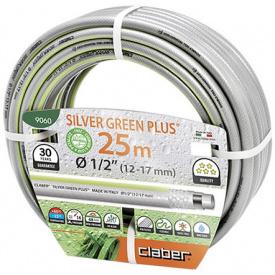 "Шланг поливочный Claber 1/2"" 25 м Silver Green Plus (82711)"