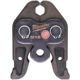 Сменные пресс-клещи Milwaukee J18-M15, для опрессовки труб (4932430246)