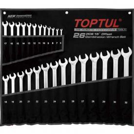Набор ключей комбинированных TOPTUL GPAA2602