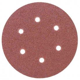 Шлифовальный круг 6 отверстий диаметр150мм P60 (10шт) SIGMA (9122241)