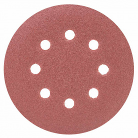 Шлифовальный круг 8 отверстий диаметр125мм P150(10шт) Sigma (9122681)