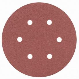Шлифовальный круг 6 отверстий диаметр150мм P80 (10шт) SIGMA (9122251)