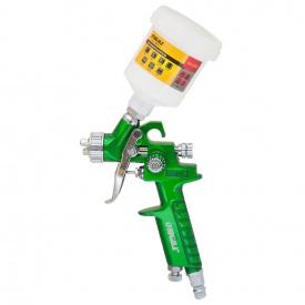 Краскораспылитель Sigma HVLP-mini O0.8 (зел) в/б (пласт) (6812041)