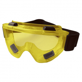 """Очки защитные закрытые """"anti-scratch"""" Jet (желтые) Sigma (9411011)"""