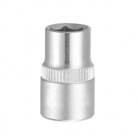 """Насадка шестигранная короткая 1/4"""" 7мм CrV ULTRA(6060072)"""