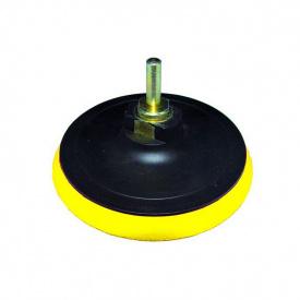 Диск шлифовальный резиновый с липучкой мягкий O125ммSigma (9182151)