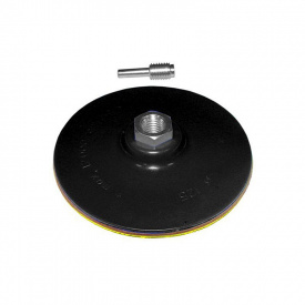 Диск шлифовальный резиновый с липучкой жесткий O125мм Sigma (9181151)