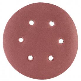 Шлифовальный круг 6 отверстий диаметр150мм P180(10шт) Sigma (9122291)