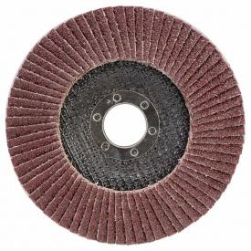 КРУГ ЛЕПЕСТКОВЫЙ ТОРЦЕВОЙ Т29 (КОНИЧЕСКИЙ) диаметр125ММ P40 SIGMA (9172621)