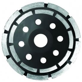 Круг алмазный сегментный шлифовальный (чашечный, 2 ряда) Sigma O115мм (1912121)