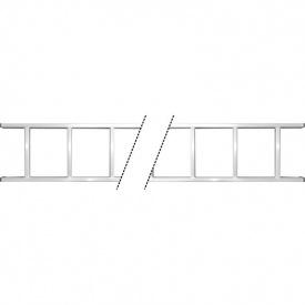 Лестница приставная алюминиевая 20 ступенек Sigma (5034374)