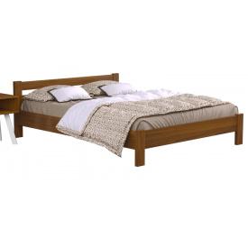 Двуспальная кровать Estella Рената 180х200 см деревянная цвет орех