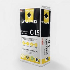 С-15 Штукатурка цементная, Wallmix, 25кг