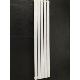 Дизайнерский вертикальный радиатор отопления TM ARTTIDESIGN Livorno 5/1600 Цвет белый матовый