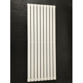 Вертикальный дизайнерский радиатор отопления ТМ ARTTIDESIGN Livorno 9/1800 Цвет белый матовый