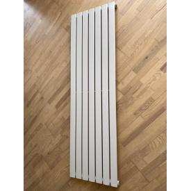 Вертикальный дизайнерский радиатор отопления TM ARTTIDESIGN Livorno 7/1600 белый матовый