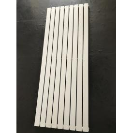 Дизайнерский вертикальный радиатор отопления TM ARTTIDESIGN Livorno 9/1600 Цвет белый матовый