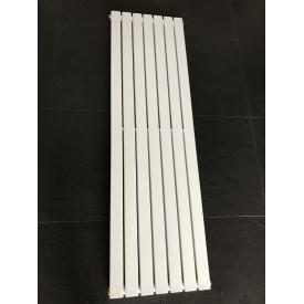 Вертикальный дизайнерский радиатор отопления ТМ ARTTIDESIGN Livorno || 7/1600 белый матовый