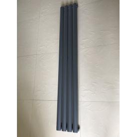 Вертикальный дизайнерский радиатор отопления TM ARTTIDESIGN Rimini    4/1800 серый матовый