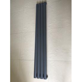 Вертикальный дизайнерский радиатор отопления TM ARTTIDESIGN Rimini || 4/1500 серый матовый
