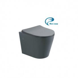 Чаша подвесного унитаза Rimless с сиденьем Asignatura Axiom (97802806)
