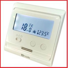 Терморегулятор электронный Castle Е31,116 (не программируемый) белый